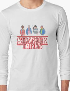 Stranger Things - the Gang Long Sleeve T-Shirt