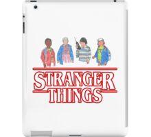 Stranger Things - the Gang iPad Case/Skin