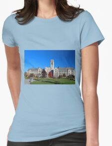 University of Toledo- Campus Mall Side III Womens Fitted T-Shirt