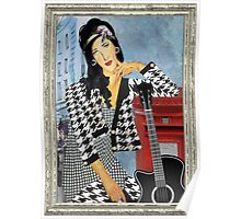 Amy Winehouse in London Poster