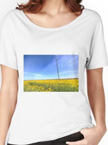 Summer English Farm Women's Relaxed Fit T-Shirt