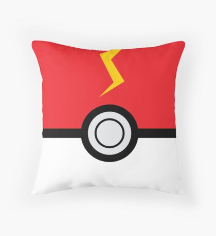Pokemon ball  Throw Pillow