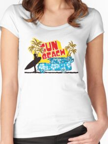 Sun Beach Women's Fitted Scoop T-Shirt