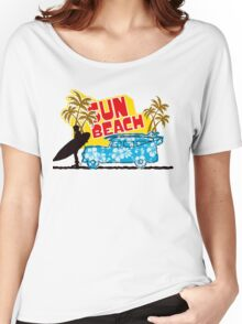 Sun Beach Women's Relaxed Fit T-Shirt