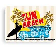 Sun Beach 578 Canvas Print