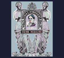 Lydia Pinkhams Herb Medicine One Piece - Short Sleeve