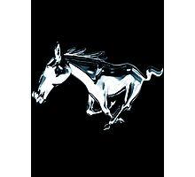 horse, mustang shirt Photographic Print