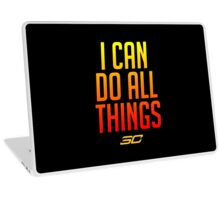 I can do all things - FIRED UP! #2 Laptop Skin