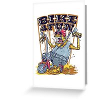 Bike 4 Fun 578 Greeting Card