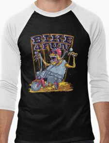 Bike 4 Fun Men's Baseball ¾ T-Shirt