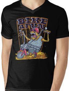 Bike 4 Fun 578 Mens V-Neck T-Shirt