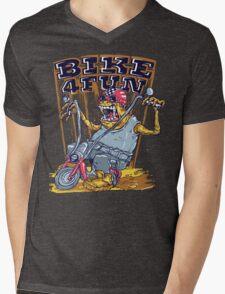 Bike 4 Fun Mens V-Neck T-Shirt