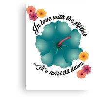 In love with the fifties - Lets twist till dawn Canvas Print