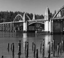 Siuslaw River Bridge ©  by © Hany G. Jadaa © Prince John Photography