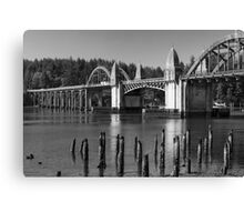 Siuslaw River Bridge ©  Canvas Print