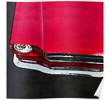 vintage car aquarell Poster