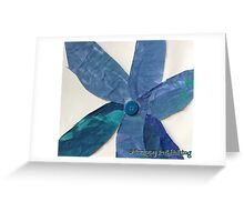 Momma's  Button Flower Greeting Card