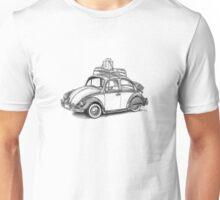 Volkswagen Beetle 60s - 'Signed'  Unisex T-Shirt
