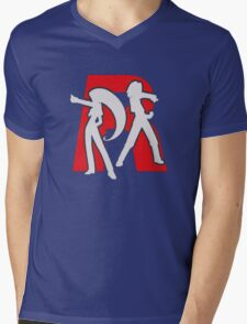Club Rocket  Mens V-Neck T-Shirt