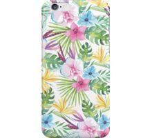 Tropical Vintage Floral iPhone Case/Skin