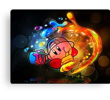 Kirby Art Canvas Print