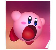 Kirby Eat Poster