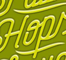 Craft Beer: Faith, Hops, Love Sticker