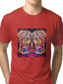 Neon Twins Tri-blend T-Shirt