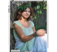 nymph Girl on nature iPad Case/Skin