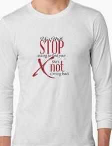 Dear Math... Long Sleeve T-Shirt