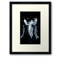 Xerath Ink Black Framed Print