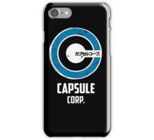 capsule corp saiyan logo iPhone Case/Skin