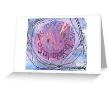 The Whole World Smiles - by Colin Greeting Card