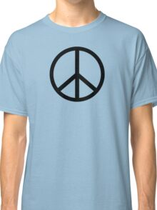 Peace Sign Hipster Fashion T-Shirt Classic T-Shirt