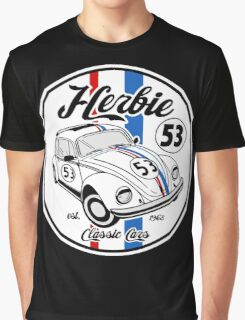 CLASSIC CAR NUMBER 53 Graphic T-Shirt