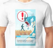 POKEMON GO LOADING SCREEN STUCK Unisex T-Shirt