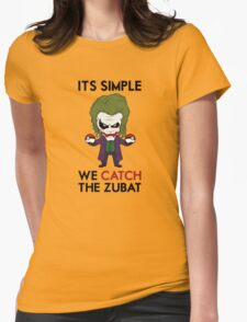 Catch the Zubat Womens Fitted T-Shirt