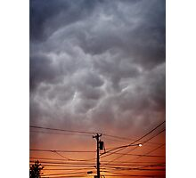 Storm Warning Photographic Print