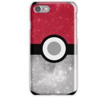 Galaxy Pokemon Pokeball iPhone Case/Skin