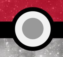 Galaxy Pokemon Pokeball Sticker