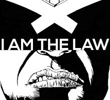 I am the Law - Dredd by jackthewebber