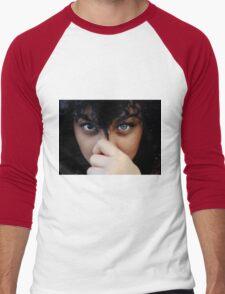 the crystal eye  Men's Baseball ¾ T-Shirt