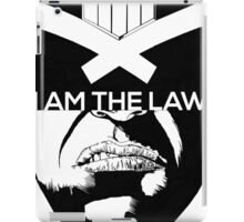 I am the Law - Dredd iPad Case/Skin