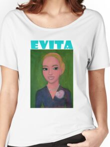 Evita Perón by Diego Manuel Women's Relaxed Fit T-Shirt