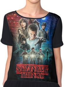 Stranger Things Chiffon Top