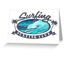 Surfing Club Championship Greeting Card