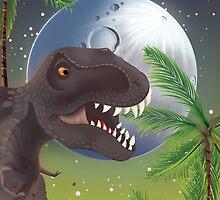 Tyrannosaurus Rage!  by Nick  Greenaway