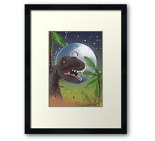 Tyrannosaurus Rage!  Framed Print
