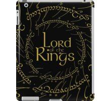 The Rings Logo iPad Case/Skin
