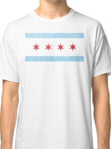 Vintage Chicago Flag Classic T-Shirt